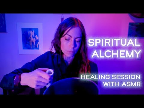 Spiritual Alchemy Energy Healing Session, With Reiki And ASMR