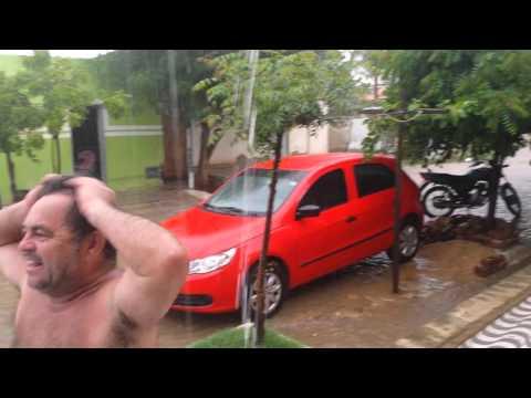 Muita chuva em Jucurutu em 23 de janeiro 2012
