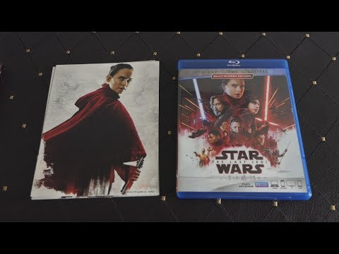 Unboxing THE LAST JEDI - Star Wars Episode VIII Blu-ray + DVD + Digital Wal-Mart Exclusive