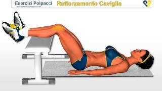 Esercizi Polpacci : Rafforzamento Cavilgie