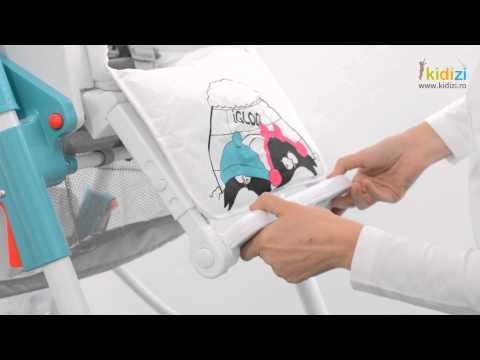 Prezentare video Bertoni-Lorelli scaun masa Primo
