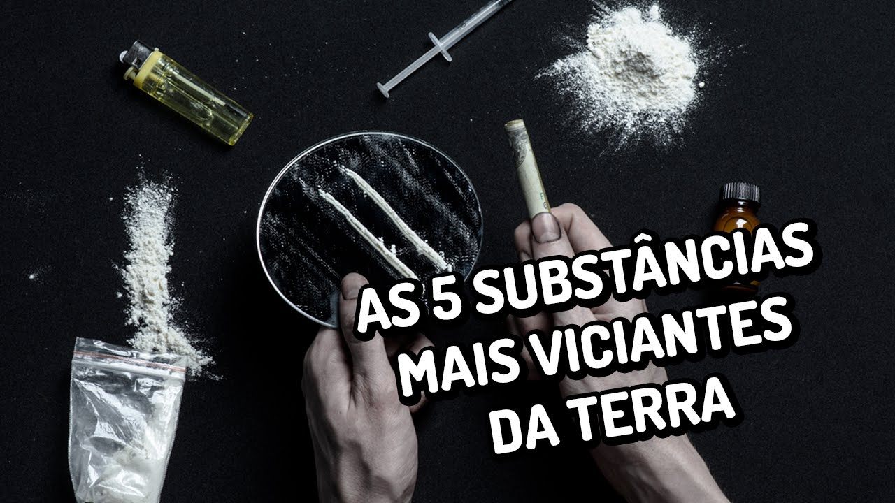 As 5 substâncias mais viciantes da Terra