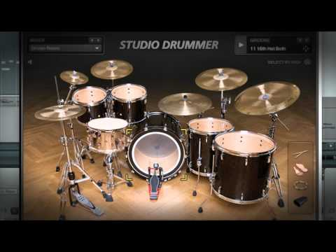 Native Instruments STUDIO DRUMMER   Native Instruments