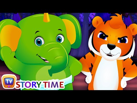 Jingo, The Baby Elephant - Bedtime Stories for Kids in English | ChuChu TV Storytime for Children