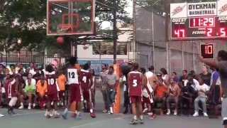 July 29, 2015 Dyckman Basketball Tournament(25th Anniversary):Dunk Contest
