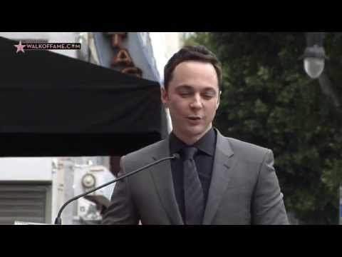 Jim Parsons Walk of Fame Ceremony