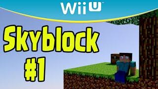 Minecraft Wii U - SKYBLOCK Survival (Part 1)