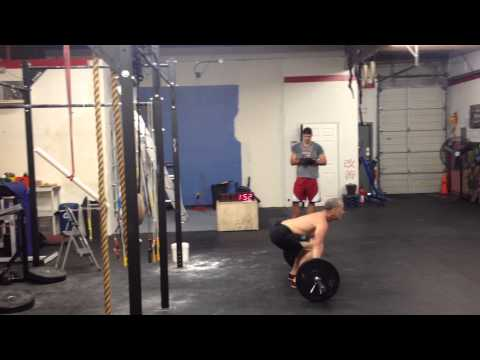 CrossFit Open WOD 2014.7 - Masters Qualifier