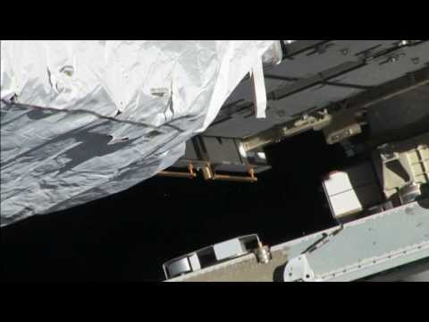 Leak - Aboard the International Space Station a leak of ammonia coolant was detected on May 9, coming from a location on the station's P6 truss.