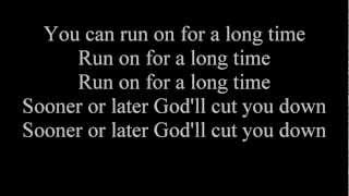 Video Johnny Cash- God's Gonna Cut You Down (lyrics) MP3, 3GP, MP4, WEBM, AVI, FLV Juni 2018