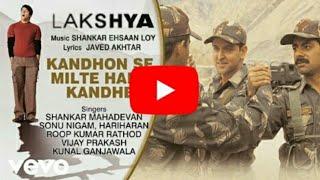 Kandhon Se Milte Hain Kandhe Karaoke || Lakshya || Karaoke Song || Ashish Yadav