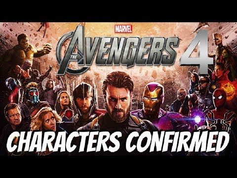 Avengers 4: EVERY Character CONFIRMED (so Far)