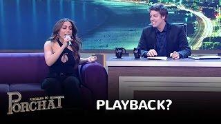 image of Anitta prepara o gogó e mostra que não é feita de playback