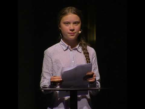 Greta Thunberg Speech at Brilliant Minds Conference in Stockholm 13/6/19