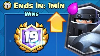 I GOT 20 WINS LAST MINUTE | Clash Royale | Mega Knight is HERE!