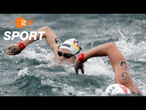 Wunram holt Silber, Top-Ten-Plätze für die Männer - Freiwasser, 25 km   Schwimm-WM 2019 - ZDF