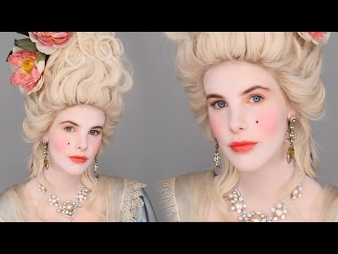 Marie Antoinette Inspired Makeup Tutorial - Costume Party Look #FacePaintBook