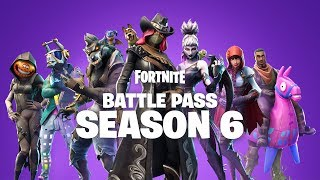 Fortnite Season 6 Battle Pass - Now with Pets!