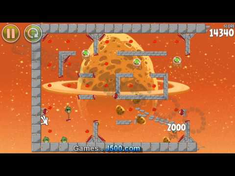 Angry Birds Space bonus Level E-9 Walkthrough Lösung 3 Stars sterne (видео)