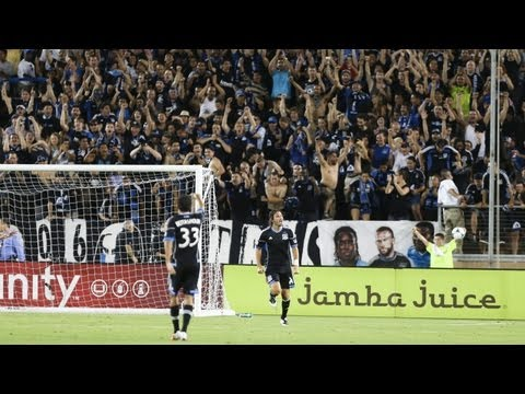 Video: GOAL: Alan Gordon heads in the game winner | San Jose Earthquakes vs LA Galaxy