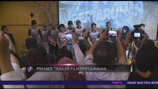Aliando Dan Adipati Dolken Launching Official Trailer Film Pertaruhan