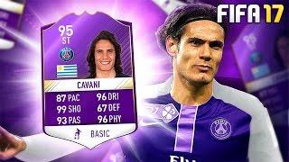 95 CAVANI SQUAD!! - FIFA 17 Ultimate Team Mp3