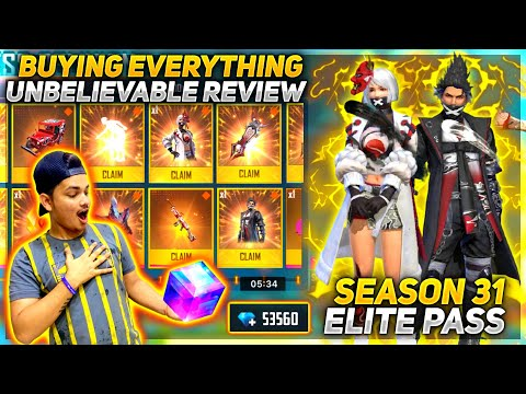 Unlocking Full Elite Pass Season 31 - Full Review By Two Side Gamers