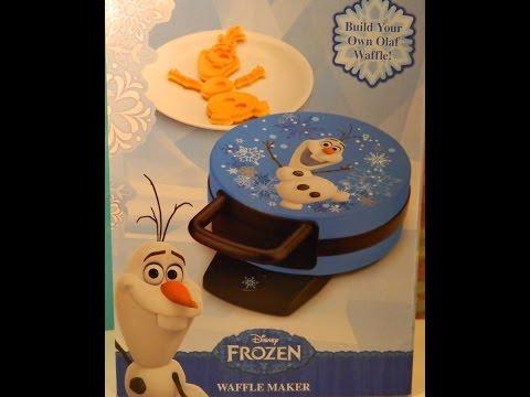 Disney's Frozen Olaf Waffles