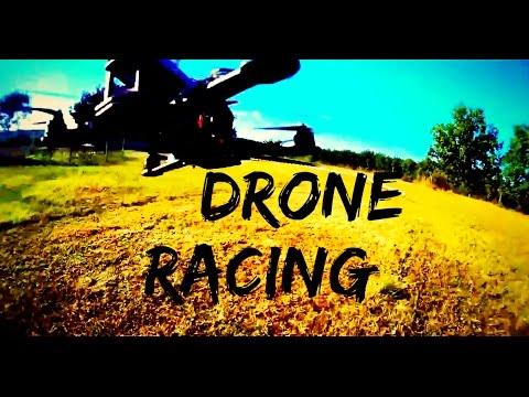 Sinta a emoção - Drone Racing