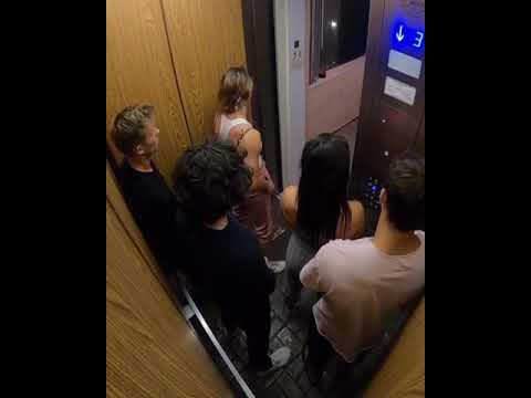 When Someone Farts In Elevator...