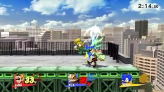 Luigi Forward Throw Lock (Not Mine)