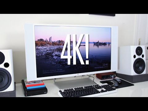 My New 4K Monitor! (HP Spectre 32 Studio Display)