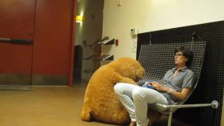loneliness with a teddy bear