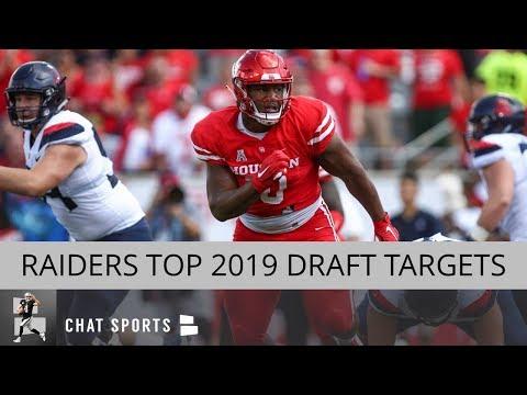Raiders Draft Rumors: Nick Bosa, Ed Oliver, & Justin Herbert Top Of Raiders 2019 NFL Draft Board