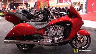 8. 2015 Victory Vision Tour - Walkaround - 2015 Toronto Motorcycle Show