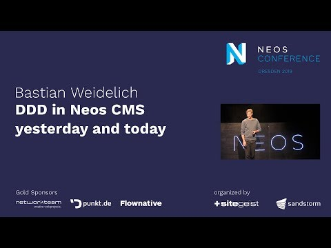 Bastian Waidelich –DDD in Neos yesterday and today