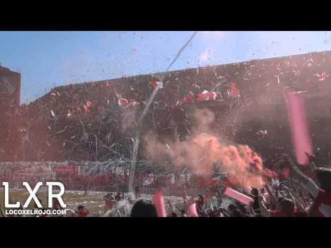 Independiente 2 - Racing Club 1 // El Recibimiento - La Barra del Rojo - Independiente - Argentina - América del Sur