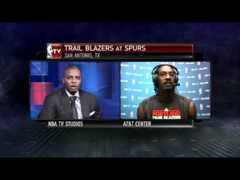 Gerald Wallace's Interview on NBA TV