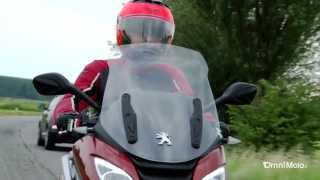 Peugeot Metropolis 400i - VIDEO TEST di OmniMoto.it