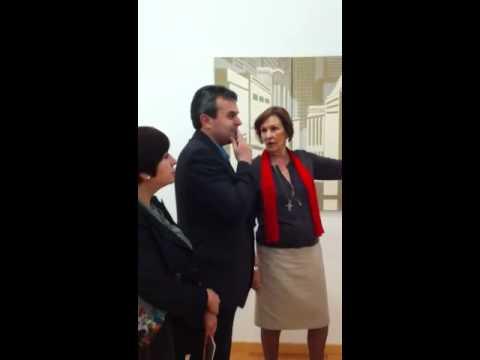 Presentación exposición de Maite Santolaria