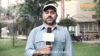 Anil K Sekar Interview for Kantharvan Movie