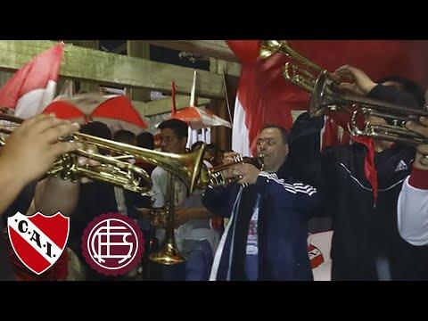 Lanus 1 - Independiente 1 | Las trompetas del rojo - La Barra del Rojo - Independiente - Argentina - América del Sur