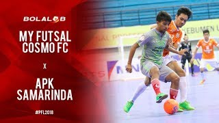 Video My Futsal Cosmo Jakarta (2) vs (3) APK Samarinda - Highlights Pro Futsal League 2018 MP3, 3GP, MP4, WEBM, AVI, FLV Februari 2018