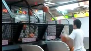 Asian Dude Destroys Basketball Game - Epic Win