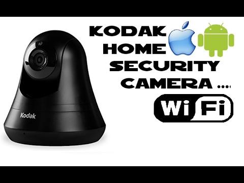 Kodak CFH-V15 home security WIFI camera with pan and tilt