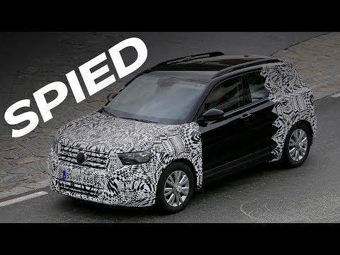 2019 Volkswagen T-Cross Spy Video