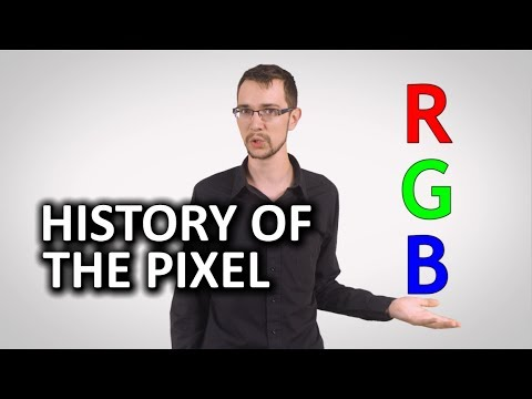 pixel - The history of the Pixel. What are they? How did they come to be?? Sponsor message: Get a FREE 7 day trial for lynda.com here: http://bit.ly/1hvWvb9 Follow T...