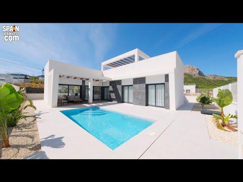 От 320000€/НЕДОРОГО дом в Испании/Дома в стиле Хай Тек/Недвижимость/Испания/Бенидорм/Ла Нусия/Полоп