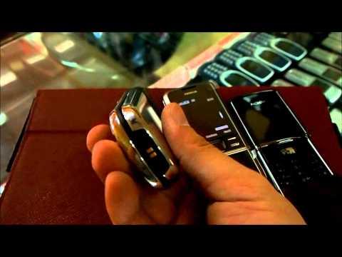 Nokia 8800 vs Sirocco vs Carbon Arte