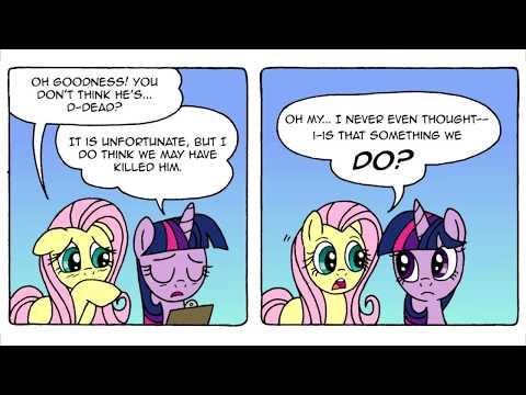 [MLP Comic Dub] Things Ponies Do (dark comedy)